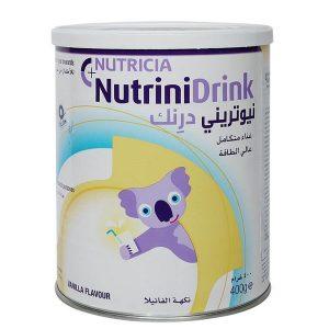Sữa bột nutrinidrink vị vani của Đức cho trẻ từ 1 tuổi hộp 400g