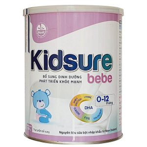 Sữa bột Kidsure Bebe của Việt Nam cho trẻ từ 0 đến 12 tháng hộp 900g