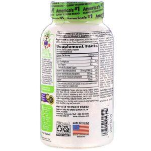 Kẹo dảo bổ sung canxi và vitamin D3 Vitafusion Calcium+D3 của Mỹ lốc 2 lọ 100 viên