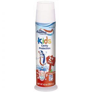 Kem đánh răng Aquafresh Kids Cavity Protection của Mỹ cho trẻ từ 2 tuổi ống 130g
