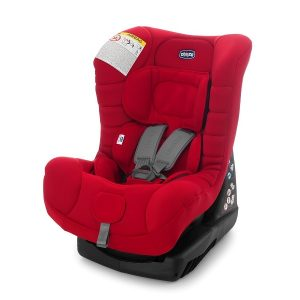 Ghế ngồi ô tô Cosmos Chicco của Italy màu đỏ cho trẻ từ 0 đên 4 tuổi
