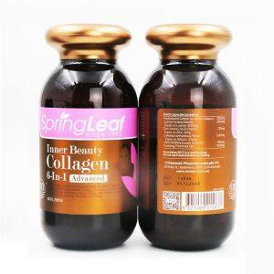 Viên uống bổ sung collagen Spring Leaf Inner Beauty Collagen của Úc lọ 90 viên