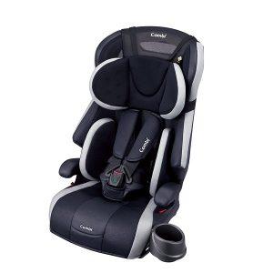 Ghế ngồi ô tô Combi Joytrip Plus màu đen pha trắng của Nhật Bản dành cho trẻ từ 1 đến 11 tuổi ghế 5,3kg