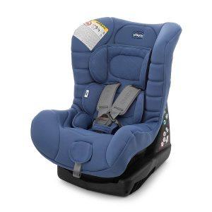 Ghế ngồi ô tô Cosmos Chicco của Italy màu xanh cho trẻ từ 0 đên 4 tuổi