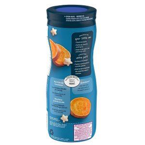 Bánh ăn dặm Gerber Puffs Sweet Potato vị khoai lang của Mỹ cho trẻ từ 6 tháng tuổi lọ 42g