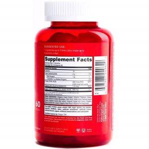 Kẹo dẻo giấm táo Goli Nutrition Apple Cider Vinegar của Mỹ lọ 60 viên