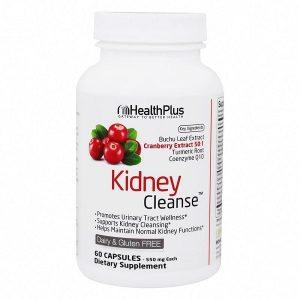 Viên uống thải độc thận, hỗ trợ chức năng tuần hoàn máu Health Plus Gateway To Better Health Kidney Cleanse của Mỹ lọ 60 viên