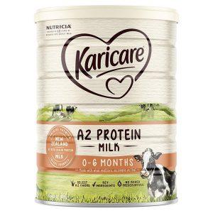 Sữa bột Karicare A2 Protein Milk số 1 của Úc cho trẻ từ 0 đến 6 tháng hộp 900g