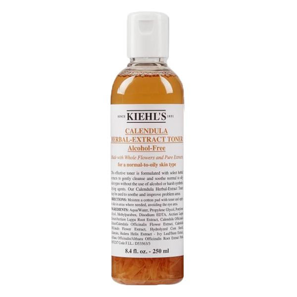 Toner hoa cúc Kiehl's Calendula Herbal Extract Toner Alcohol-Free của Mỹ chai 250ml