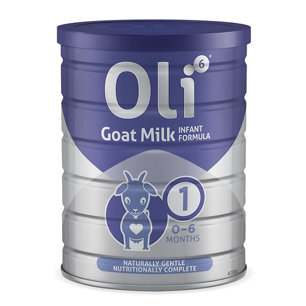 Sữa dê Oli6 số 1 Goat Milk Infant Formulacủa Úc cho trẻ từ 0 đến 6 tháng tuổi hộp 800g