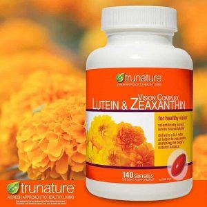 Viên uống bổ mắt Trunature Vision Complex Com & Lutein & Zeaxanthin của Mỹ lọ 140 viên