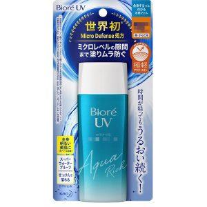 Kem chống nắng Aqua Rich Watery Gel của Nhật Bản chai 90ml