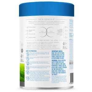 Sữa bột Bellamy's Organic Beta Genica–8™ số 1 của Úc dành cho trẻ từ 0 đến 6 tháng hộp 800g