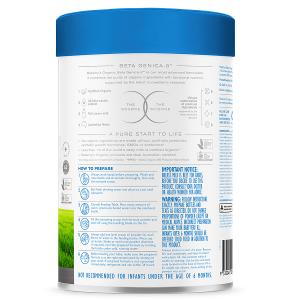 Sữa bột Bellamy's Organic Beta Genica-8™ số 2 của Úc dành cho trẻ từ 6 đến 12 tháng hộp 800g