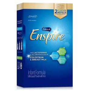 Sữa bột Enfamil Enspire Infant Formulacủa Mỹ cho trẻ từ 0 đến 12 tháng hộp giáy 850g