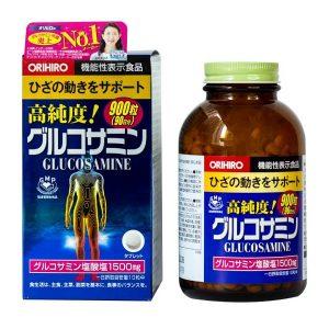 Viên uống bổ xương khớp Orihiro Glucosamine 1500mg của Nhật Bản lọ 900 viên
