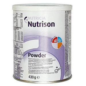 Sữa bột Nutricia Nutrison Powder của Đức cho người già, ốm, sau mổ và có hệ tiêu hóa yếu hộp 430g