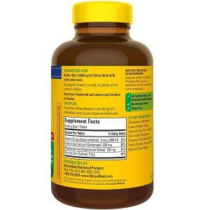 Viên uống bổ xương khớp Nature Made Calcium Magnesium Zinc With Vitamin D3 của Mỹ lọ 300 viên