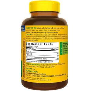 Viên uống bổ sung Magie Nature Made Extra Strength Magnesium 400 mg cua Mỹ lọ 180 viên