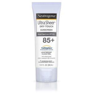 Kem chống nắng Neutrogena Ultra Sheer Dry-Touch Sunscreen 85+ của Mỹ tuýp 88g