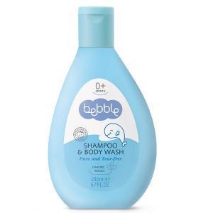Sữa tắm gội toàn thân cho bé Bebble Shampoo & Body Wash củaBulgariachai 200ml