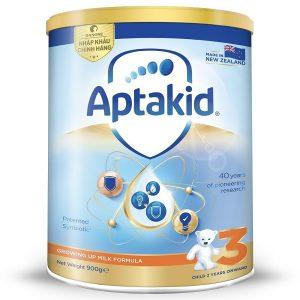 Sữa bột Aptamil số 3 của New Zealand cho trẻ từ 2 tuổi hộp 900g