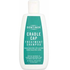 Dầu gội đầu trị cứt trâu cho bé Dentinox Cradle Cap Treatment Shampoo của Anh lọ 125ml