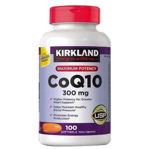 Viên bổ tim mạch Kirkland Signature Maximum Potency Coq10 300mg của Mỹ lọ 100 viên