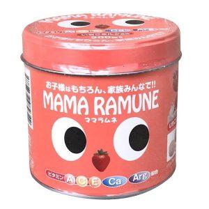 Kẹo cho trẻ biếng ăn Mama Ramune của Nhật bản hộp 200 viên