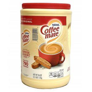 Bột kem pha cà phê Nestle Coffee Mate Original của Mỹ hộp 1,5kg