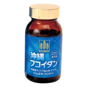 Viên uống hỗ trợ điều trị ung thư Okinawa Fucoidan của Nhật Bản lọ 180 viên
