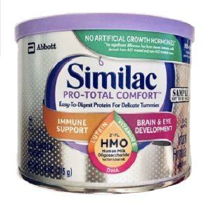 Sữa bột Similac Pro-Total Comfort Infant Formula của Mỹ cho trẻ từ 0 đên 12 tuổi hộp 215g