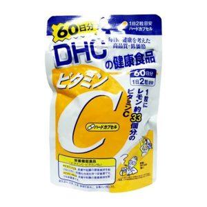 Viên uống bổ sung Vitamin C DHC của Nhật Bản gói 120 viên