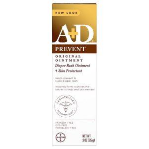 Kem chống và trị hăm tã New Look A + D Prevent của Mỹ tuýp 85g