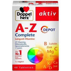 Vitamin tổng hợp Doppelherz A-Z Complete của Đức hộp 40 viên