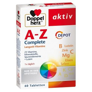 Vitamin tổng hợp Doppelherz A-Z Complete của Đức hộp 60 viên