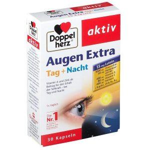 Viên uống bổ mắt Doppelherz Augen Extra Tag + Nacht của Đức hộp 30 viên