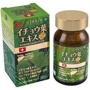 Viên bổ não Ribeto Ichoha Ekisu Plus của Nhật Bản lọ 90 viên