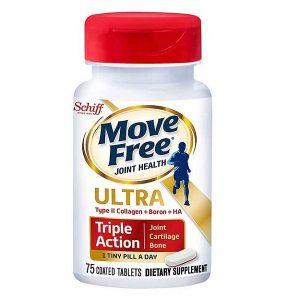 Viên uống bổ xương khớp Schiff Move Free Ultra Triple Action của Mỹ lọ 75 viên