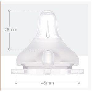 bình sữa Moyuum 170ml của Hàn Quốc cho bé từ 0-3 tháng tuổi