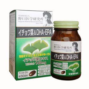 Viên tiền đình DHA EPA Ginkgo Noguchi của Nhật Bản lọ 60 viên