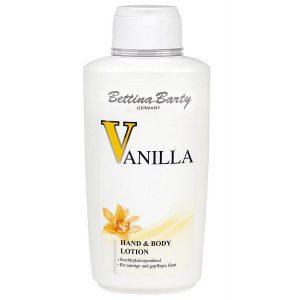 Sữa dưỡng thể Bettina Barty Vanilla Hand & Body Lotion của Đức chai 500ml