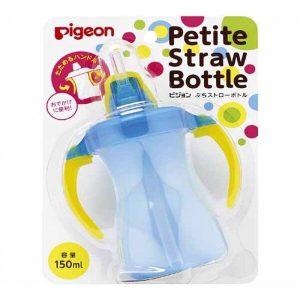 bình tập uống nước có tay cầm Pigeon của Nhật Bản cho bé từ 9 tháng tuổi bình 150ml