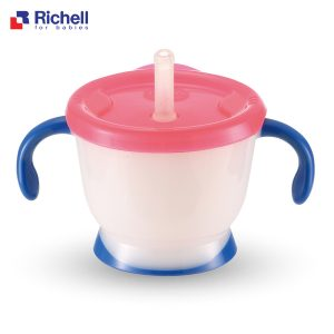 cốc uống nước có tay cầm Richell