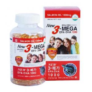 Tinh dầu cá hồi Omega 3 của Hàn Quốc lọ 300 viên