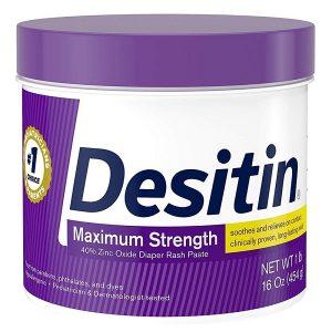 Kem trị hăm tã Desitin Maximum Strength của mỹ hũ 454g