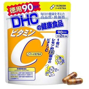Viên vitamin C DHC Vitamin C của Nhật Bản gói 180 viên