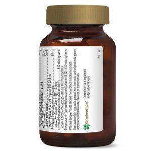 Viên uống bổ sung nhóm vitammin B Herbsofgold Activated B Complex của Úc lọ 60 viên