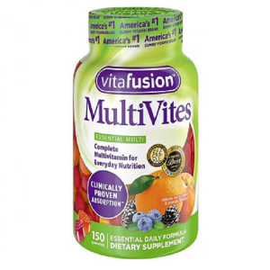 Kẹo dẻo bổ sung vitamin cho người lớn Vitafusion MultiVites Gummy Vitamins của Mỹ hộp 150 viên