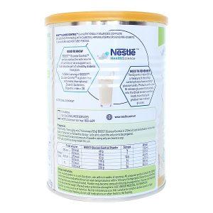 Sữa Nestle Boost Glucose Control của Thụy Sĩ dành cho người tiểu đường hộp 400g